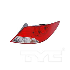 Tail Light Rear Lamp Right Passenger for 12-14 Hyundai Accent Sedan
