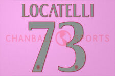 Locatelli #73 2016-2017 AC Milan Homekit Nameset Printing