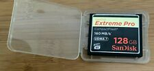 Sandisk Extreme Pro 128GB Compact Flash UDMA7 1066X CF Card 160MB/s for 4K HD