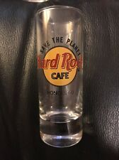 Hard Rock Cafe Honolulu Save The Planet Tall Shot Glass