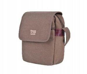 Canvas Troop London UK kleine Umhängetasche Taschen Handtasche Schräghän Damen