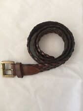 MULBERRY Men's Classic Woven Belt | Size M | Brown