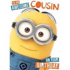 Despicable Me Minion Cousin Birthday Card