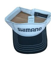 SHIMANO  BLACK / WHITE  ADJUSTABLE FISHING VISOR