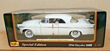 Maisto Special Edition 1956 Chrysler 300B  diecast White-NEW IN BOX-703
