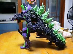 "Godzilla vs Evangelion Toho 30cm Series Evangelion first unit ""G"" figure X-plus"