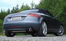 FOX Edelstahl Sportauspuff Audi TT Typ 8J 1.8l 2.0l TFSI Duplex je 1 x 100mm