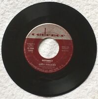 Andy Williams  BUTTERFLY /  IT DOESN'T TAKE VERY LONG on CADENCE Records 45 rpm