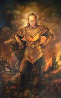"""Ghostbusters 2 Vigo the Carpathian Painting - 17"""" x 22"""" Movie Prop Print - 00218"""