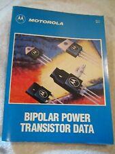 Motorola Semiconductor Bipolar Power Transistor Device Data Book