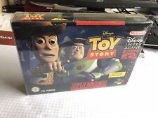 Toy Story EUR OVP/CIB Super Nintendo SNES PAL