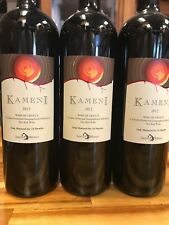 Greek Red Wine -- Santorini Kameni 2012 Mandilaria  **Lot of 3 BOTTLES**