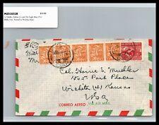 GP GOLDPATH: MEXICO COVER 1951 AIR MAIL _CV778_P06
