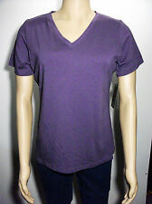 New Cabelas v neck short sleeve top  womens large