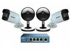 Uniden UC4202 4 Cámara 1080p sistema de nube de Seguridad Interior/exterior con 5 puertos Po