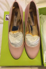 Ted Baker Peoni Court Shoe Heels Nude Patent Leather UK Size 4 New Box RRP £125