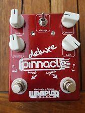 Wampler Pinnacle Deluxe Distortion Verzerrer E-Gitarren Effektgerät