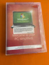 Microsoft Windows 7 Home Premium 32 Bit SP1 Full Version DVD with Product Key
