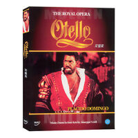 Verdi's OTELLO - The Royal Opera DVD - Placido Domingo (New *Sealed *All Region)