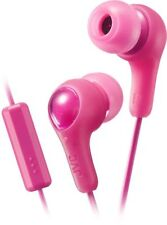 JVC HA-FX7M-P PINK Gumy In-ear headphones with remote & microphone /Brand New