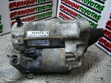 Toyota Yaris 1 0 3 Vnk 2000 2001 2002 Starter Motor 28100 0j020