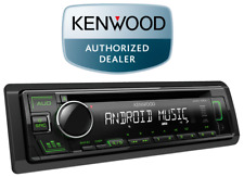 Kenwood KDC-130UG Car CD player with Aux USB Android Preout Green illumination