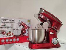 PLANETARIA IMPASTATRICE 6,5 LT Robot Da Cucina Professionale 1900W Mixer Acciaio