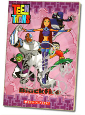 SIGNED by Beast Boy! Greg Cipes Autographed Book, Teen Titans - Blackfire