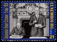 Luxemburg postfris 2000 MNH 1507 - Schuman-Plan 50 Jaar