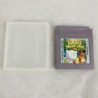 Kirby's Dream Land Nintendo GameBoy with OEM Case Game Boy Authentic
