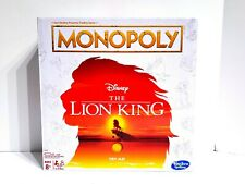 Monopoly Disney THE LION KING Special Edition Family Board Game Rare Limited New