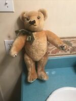 """Vintage Merry Thought Mohair 19-20"""" Golden Jointed Bear. Free Shipping"""
