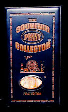 THE SOUVENIR PENNY COLLECTOR ~ FIRST EDITION ~ 28 ELONGATED COINS ENCLOSED ~ EUC