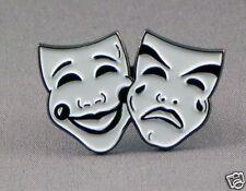Comedy and Tragedy 2 Drama Masks enamel fridge magnet