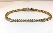 9ct Tennis Bracelet CZ Stones