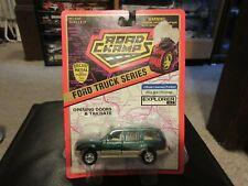 Road Champs 1995 Chevy Chevrolet S-10 Blazer Green ERROR! 1:43 O Scale