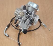 Carburetor W/ Throttle Cable Kawasaki ATV KLF300 Bayou 300 Carb 1986-2005