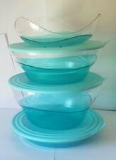 Tupperware – Eleganzia Kollektion Meeresbrise 1,5 l, 3,5 l, 4,6 l Neu & OVP