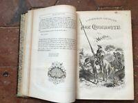 Cervantes el Ingenioso Caballero Don Quijote de La Manga Ill Rojo mientras Que