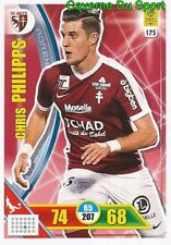 175 CHRIS PHILIPPS LUXEMBOURG FC.METZ CARTE CARD ADRENALYN LIGUE 1 2018 PANINI