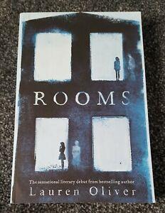 Rooms Signed Uncorrected Proof Paperback Lauren Oliver