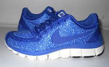 Nike sz 5 Women's - sz 3.5 Youth Free 5.0 V4 Running Shoes NEW 511281  403 Blue
