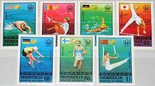 MONGOLIA MONGOLEI 1976 1023-29 928-34 Olympics Montreal Gold Medal Winner MNH