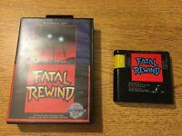Fatal Rewind (Sega Genesis) w/ Case