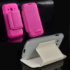 PU Leather Flip Wallet Card Case Cover For Samsung Galaxy Ace 3 S7270 S7272/7275