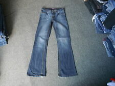 "Denim Co Jeans Bootcut Taglia 8 Gamba 31"" Sbiadito Jeans Blu Scuro Donna"