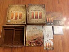 AGE OF EMPIRES III COLLECTOR'S EDITION (MICROSOFT, 2005) WITH ARTBOOK, CD & DVD