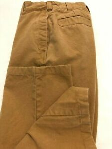 Orvis Mens Heavy Canvas Hunting Pants 34 29