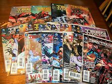 Teen Titans Issues 1-17 in Trade Pback 18-30 issues+ 3D Triton 23.1 Cover + more