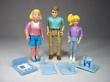 Playskool Dollhouse Mom Mother Dad Father Teenager Daughter Figure Doll LOT SET
